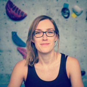 """Juliane Fritz - Autorin und Sprecherin von """"Bin weg bouldern"""""""