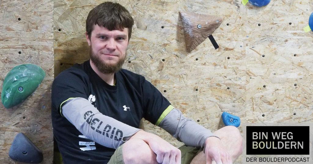 Hannes Harm - Initiator der Boulderbude in Stralsund