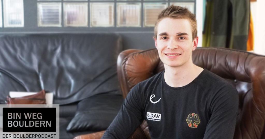 Philipp Martin im BIN WEG BOULDERN Interview.