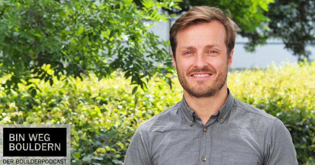 Marius Beyer von Kletteryoga im BIN WEG BOULDERN Interview