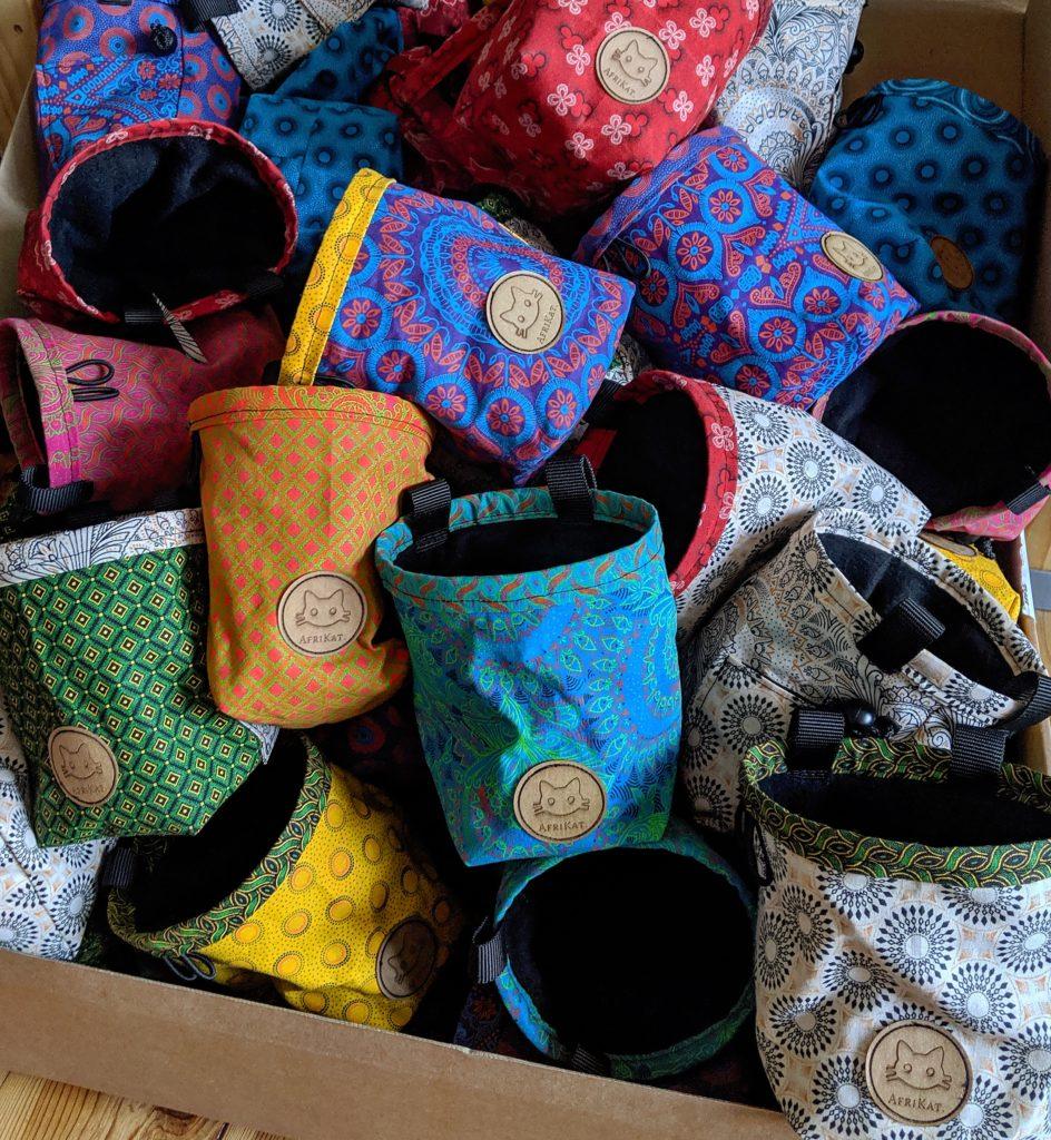 AfriKat Chalkbags in diversen Farben