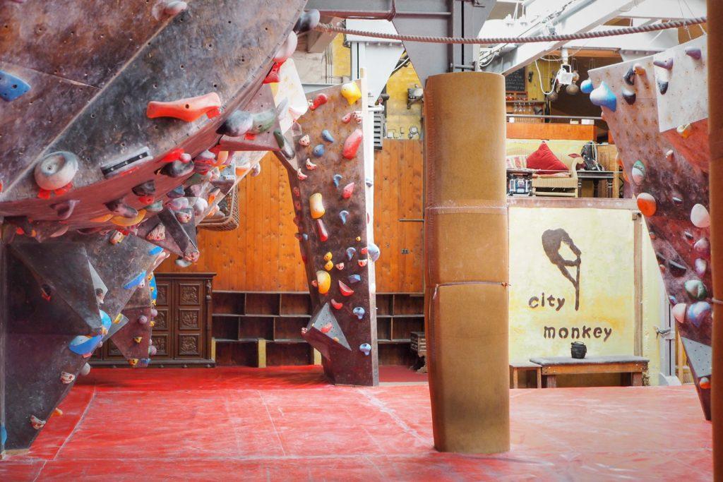 Rundgang durch die Citymonkey Boulderhalle in Essen