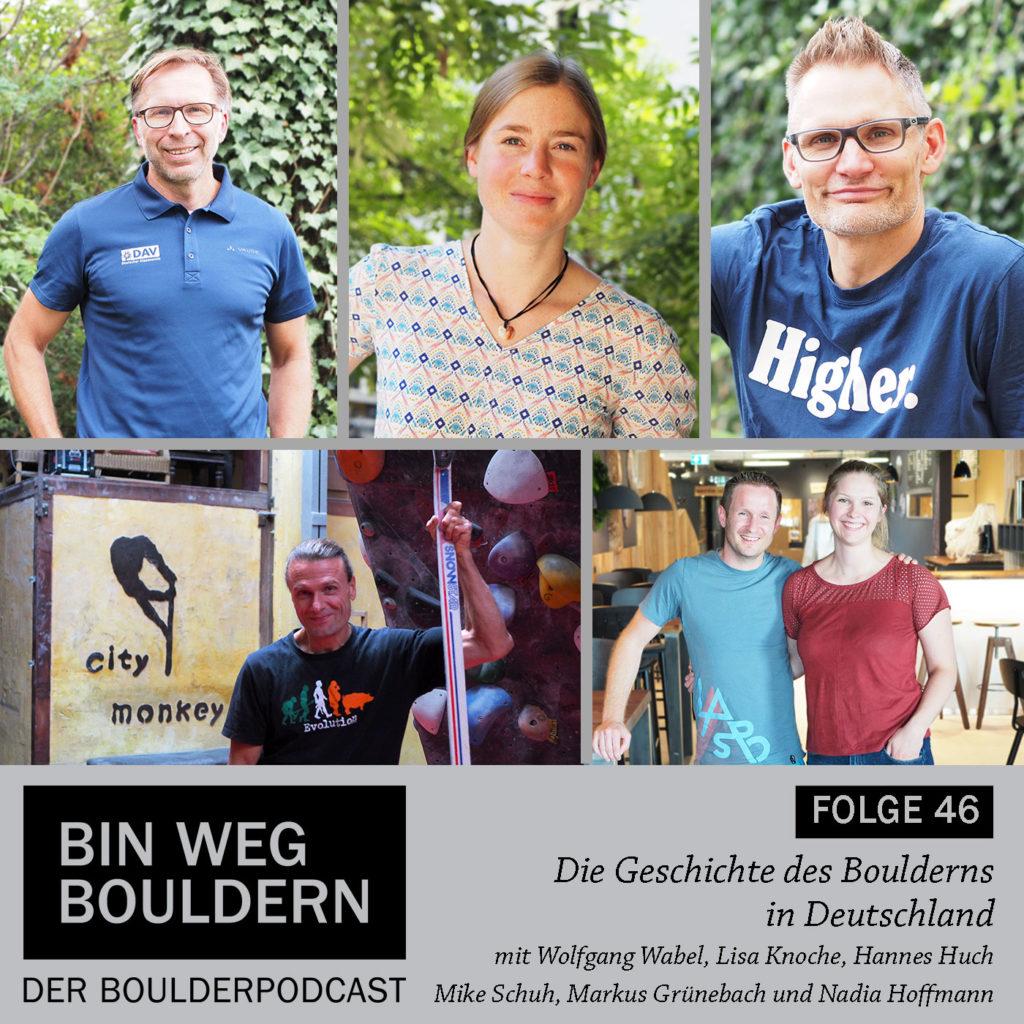 Die Geschichte des Boulderns in Deutschland - im BIN WEG BOULDERN Podcast