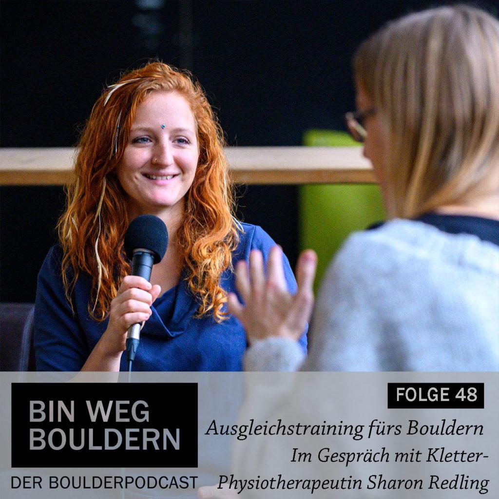 Interview mit Sharon Redling zum Thema Ausgleichstraining fürs Bouldern