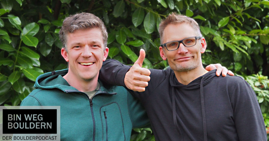 Christian Popien und Hannes Huch im Gespräch zur Frage: Soll ich eine Boulderhalle aufmachen?