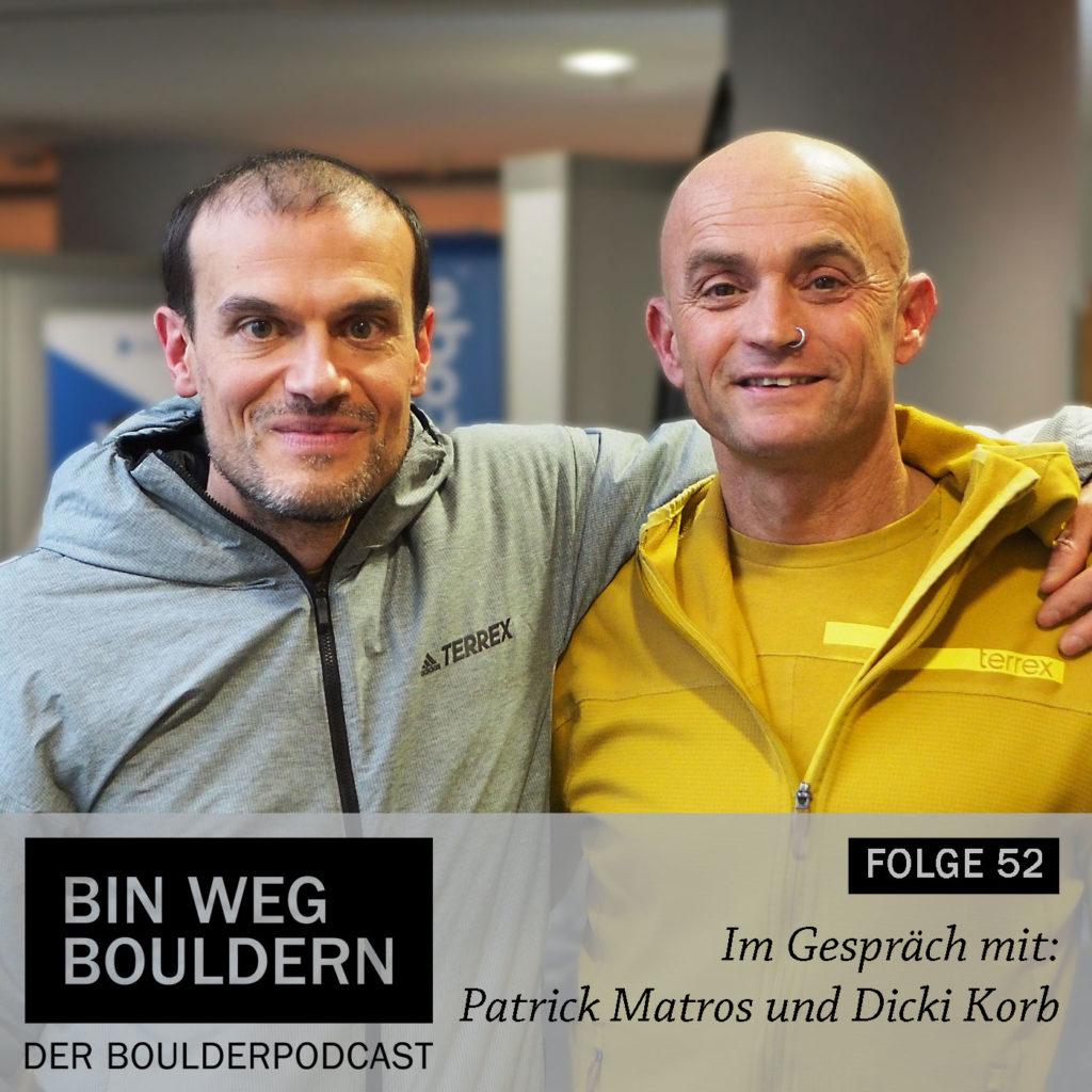 Patrick Matros und Dicki Korb von der Kraftfactory in Nürnberg im BIN WEG BOULDERN Interview