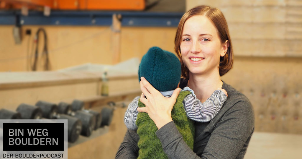 Julia Schöpp about pregnancy and climbing