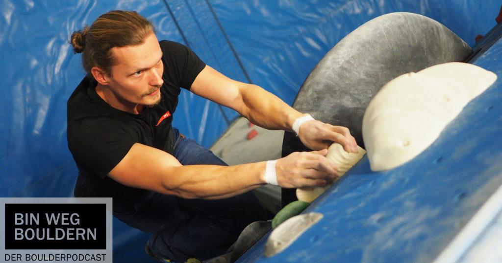 """Ralf Winkler von """"Grundkurs Bouldern"""". Mit ihm habe ich über Klettertechnik gesprochen"""