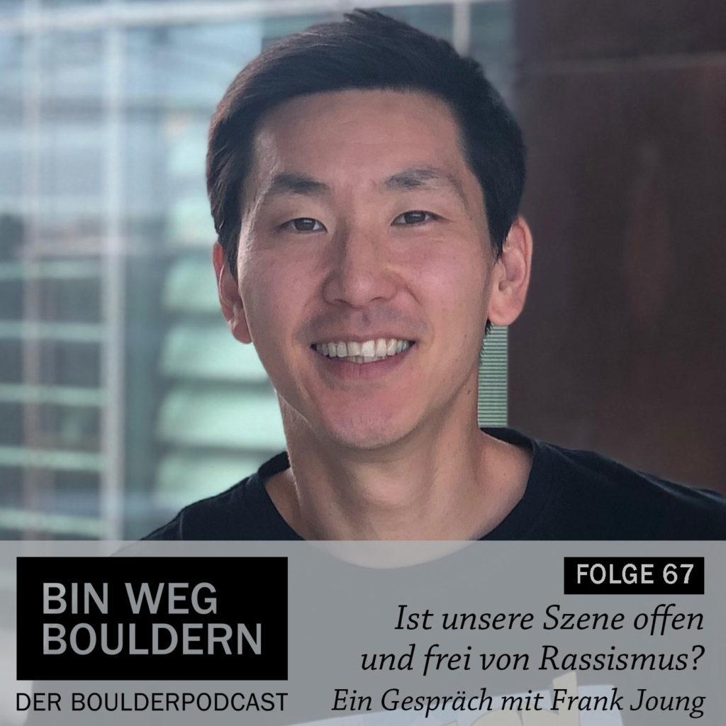"""Frank Joung vom """"Halbe Katoffl"""" Podcast im BIN WEG BOULDERN Interview"""
